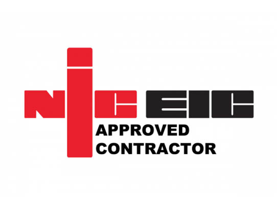 NIC EIC Approved Contractor Logo - Feeney Electrical