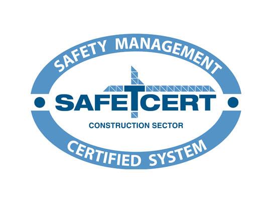 Safe T Cert logo - Feeney Electrical Derry